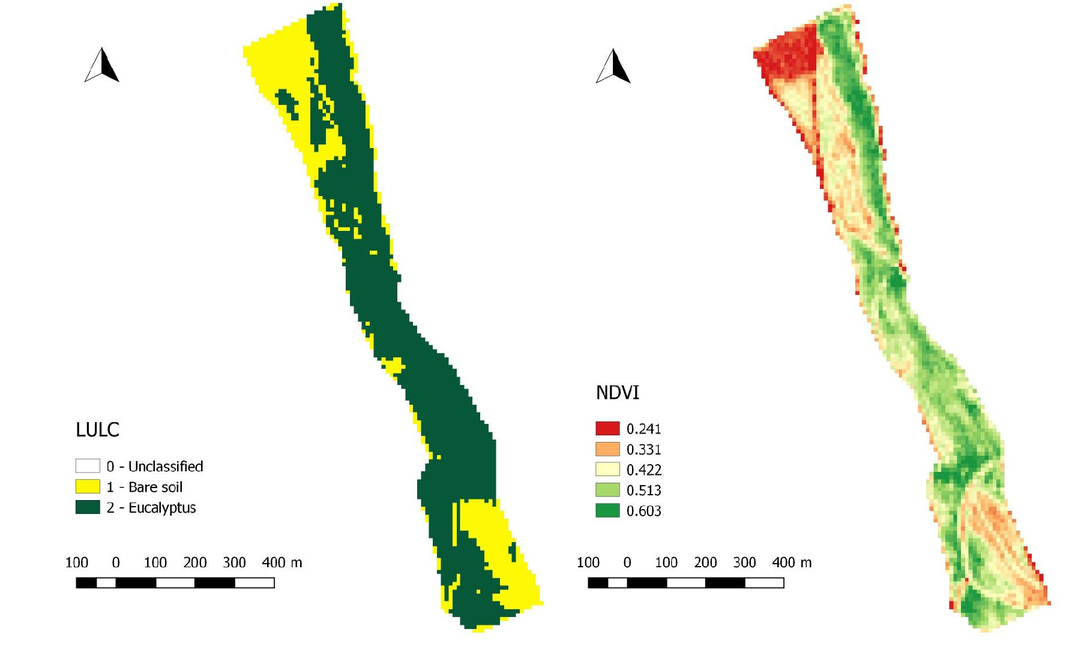 Remote sensing and GIS combination to evaluate the ecosystems