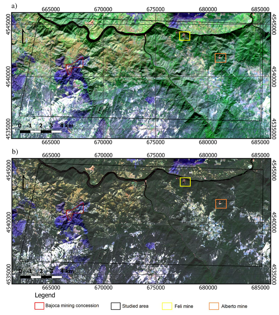 Potential of Sentinel-2 data in the detection of lithium (Li