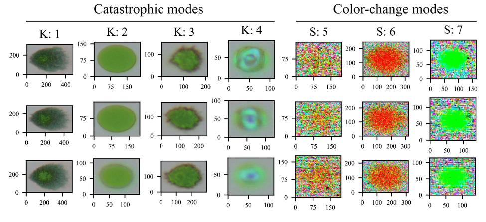 Application of image processing and machine learning for