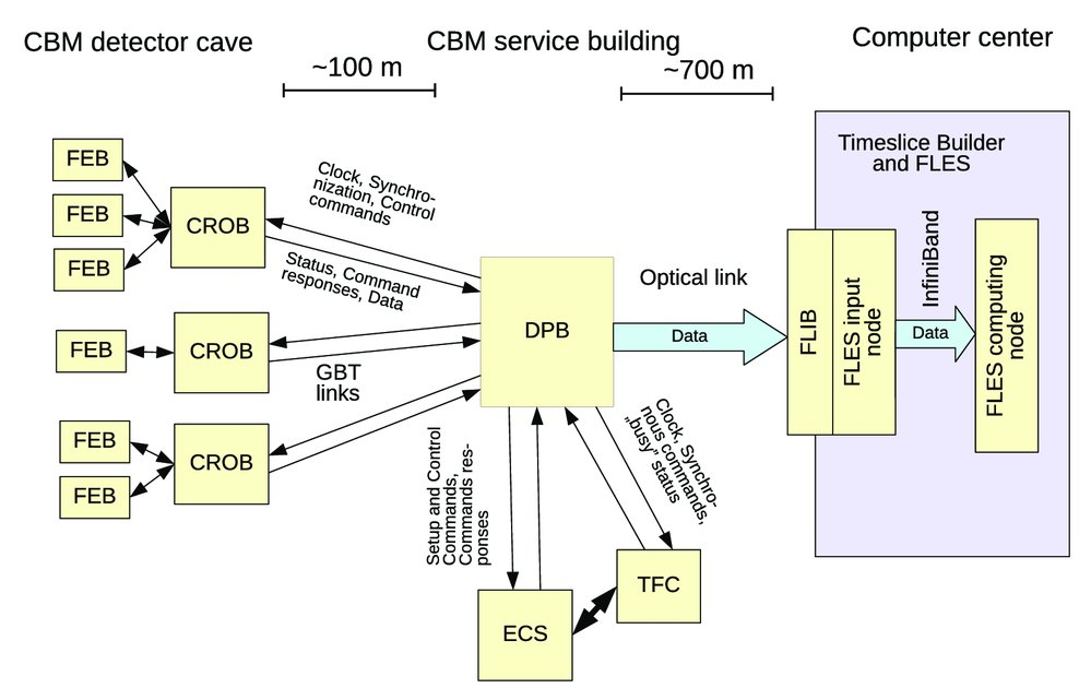 CRI board for CBM experiment: preliminary studies