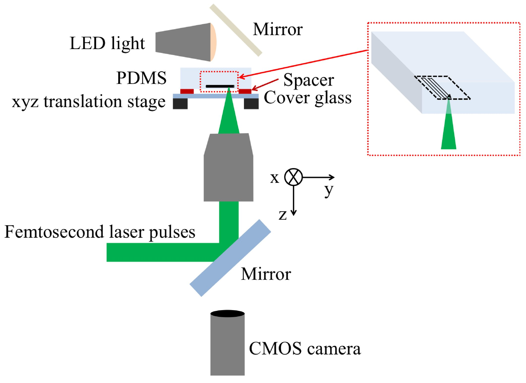Femtosecond laser-based formation of electrically conductive silicon