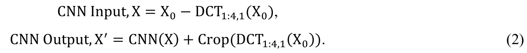 Convolutional regularization methods for 4D, x-ray CT