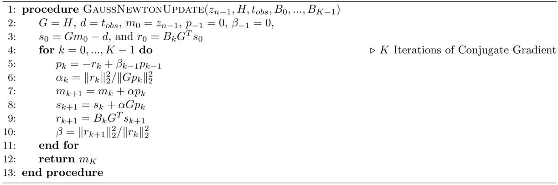 Open-source Gauss-Newton-based methods for refraction