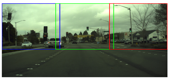Traffic light recognition for autonomous vehicles by admixing the