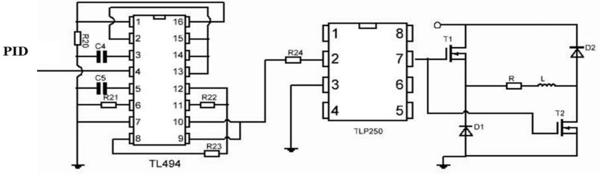 Control circuit design of magnetic suspension stylus measuring