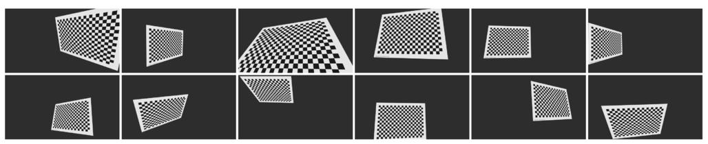 Superaccurate camera calibration via inverse rendering
