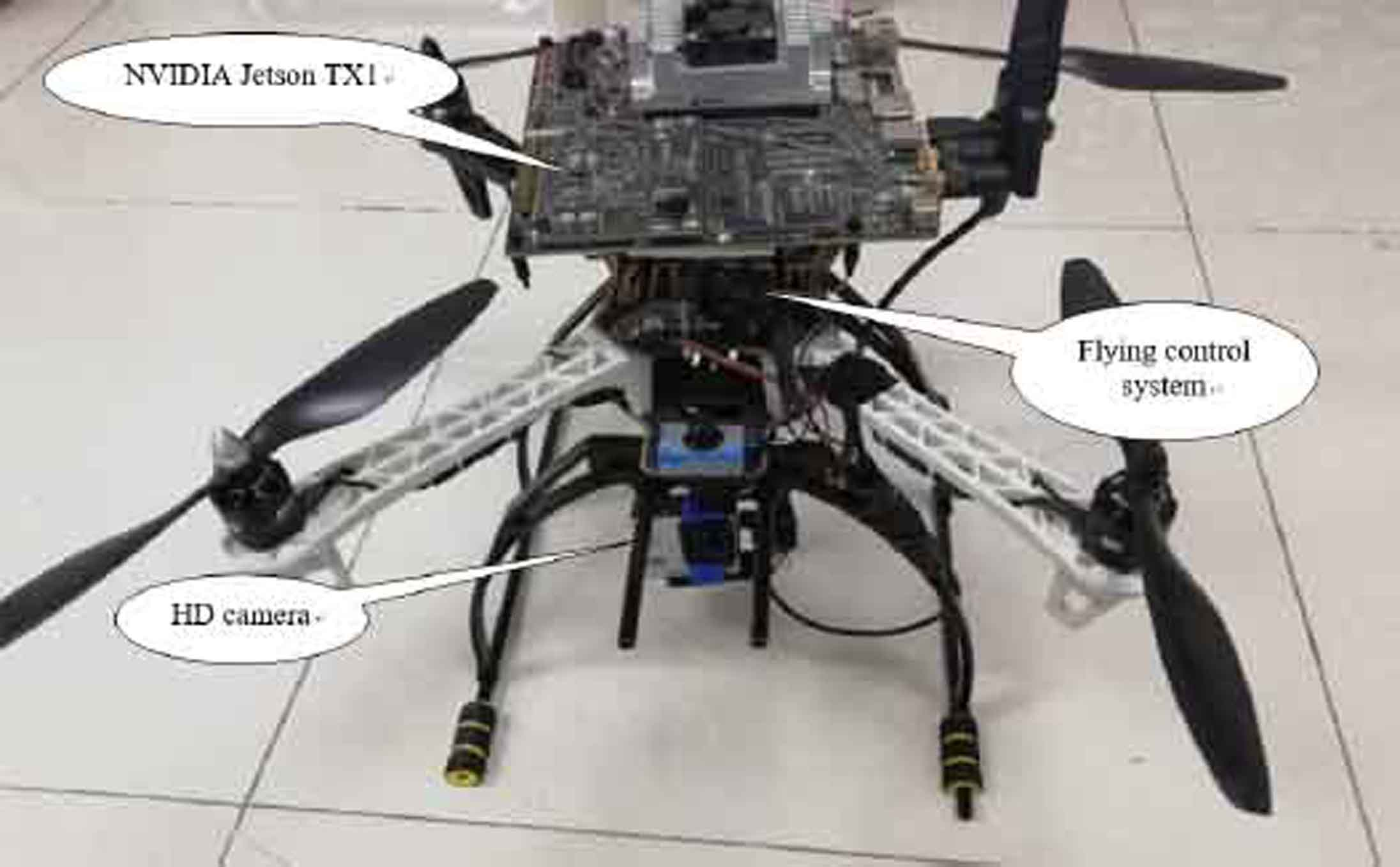 Using YOLO-based pedestrian detection for monitoring UAV