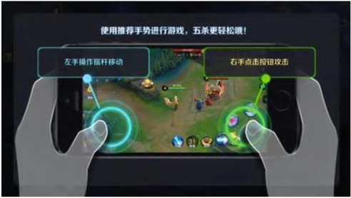 Applications of the human-computer interaction interface to MOBA