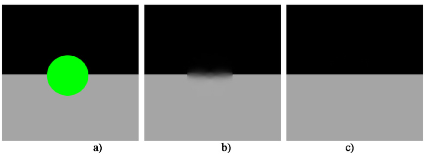Robust digital image inpainting algorithm in the wireless