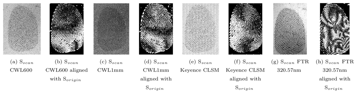 Benchmarking contactless acquisition sensor reproducibility for