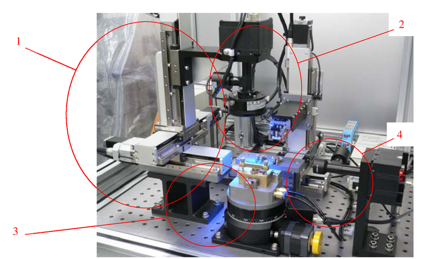 The Precision Measurement And Assembly For Miniature Parts