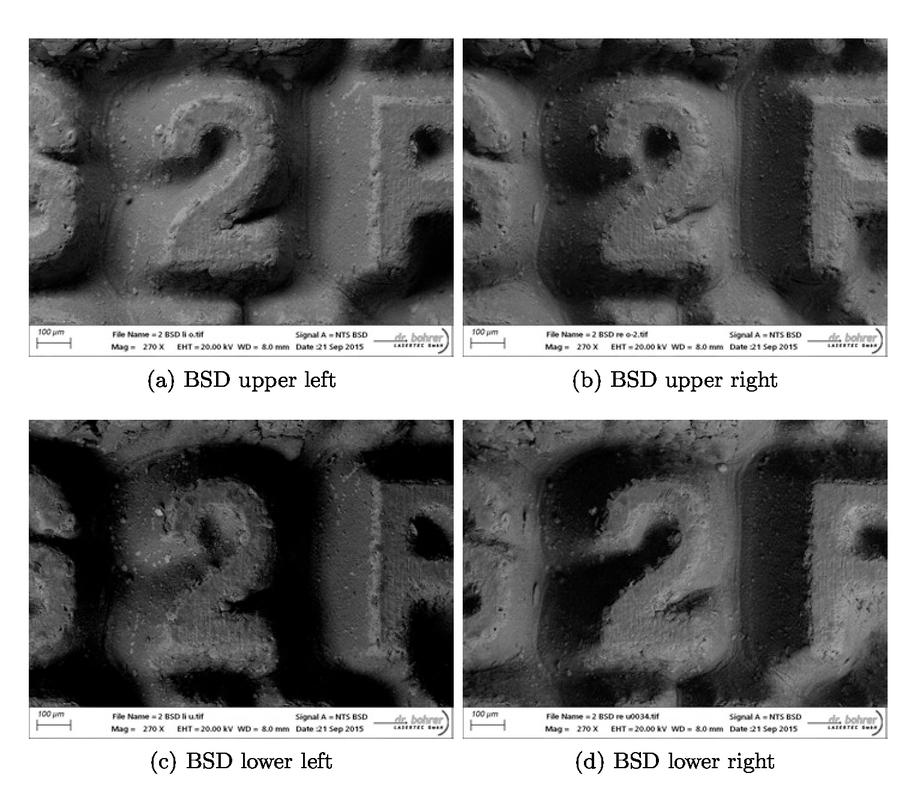 Correlative microscopy including CLSM and SEM to improve