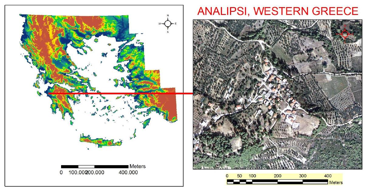 Active landslide monitoring using remote sensing data, GPS
