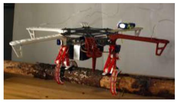 Demonstrations of bio-inspired perching landing gear for UAVs