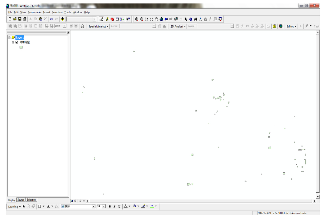 Format conversion between CAD data and GIS data based on ArcGIS