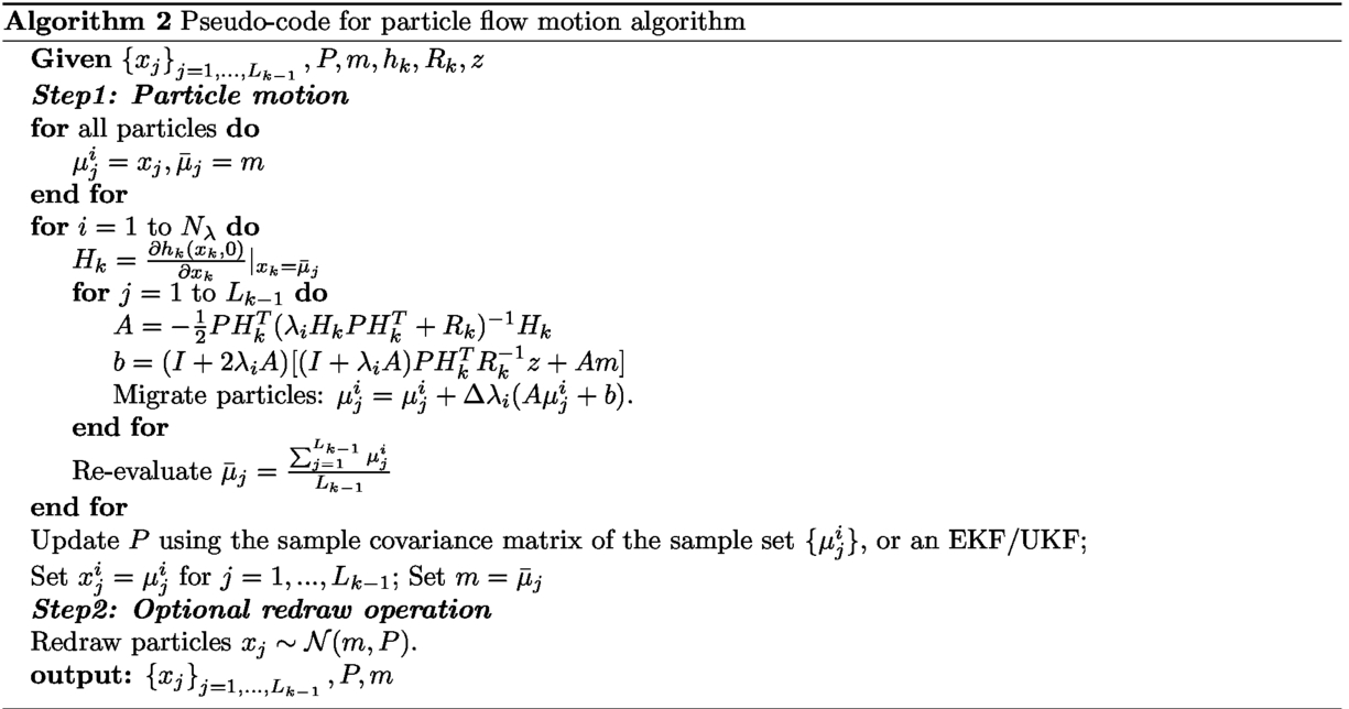 Gaussian particle flow implementation of PHD filter