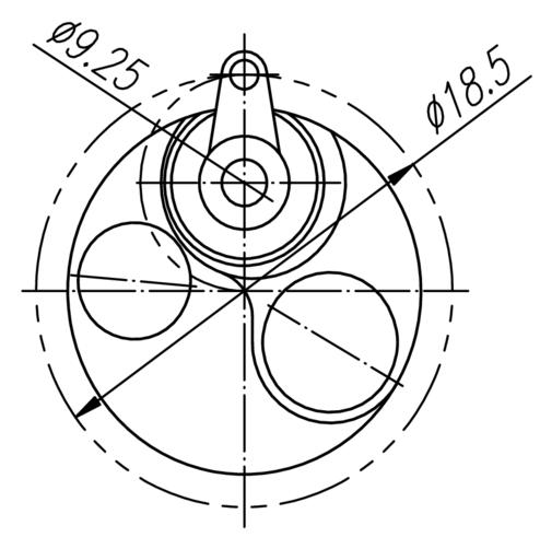 A Compact Optical Fiber Positioner