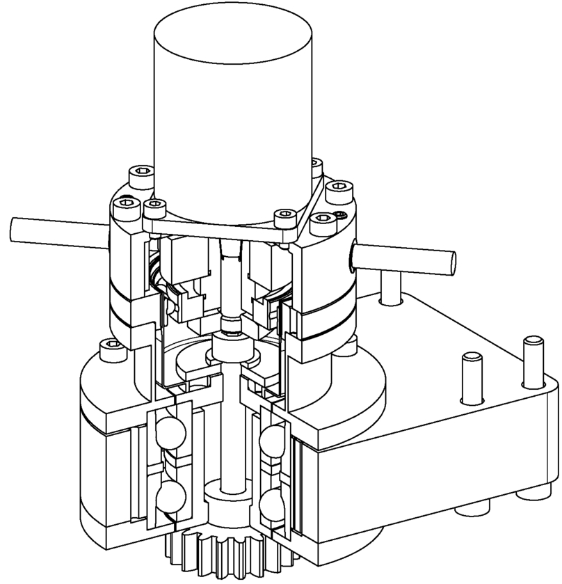 Gmtifs Cryogenic Rotary Mechanisms For The Gmt Integral Field
