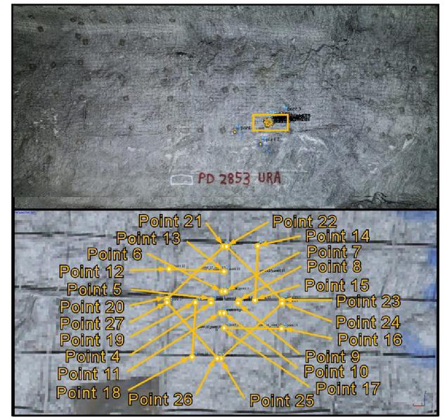 Close-range photogrammetry in underground mining ground control
