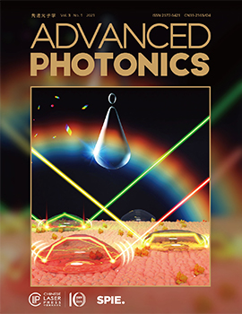 Advanced Photonics cover