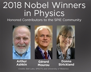 Nobel Prize in Physics winners 2018