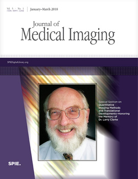 Jan-Mar cover of SPIE Journal of Medical Imaging