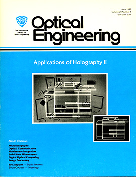 Volume 28 Issue 6 | Optical Engineering