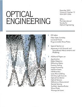 Volume 41 Issue 12 | Optical Engineering