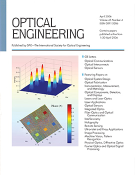 Volume 45 Issue 4 | Optical Engineering